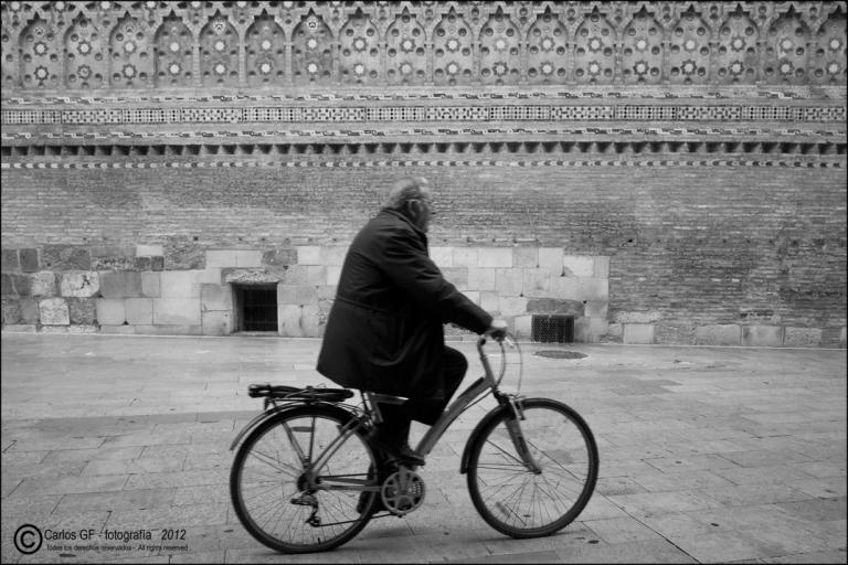 Ciclista y mudéjar